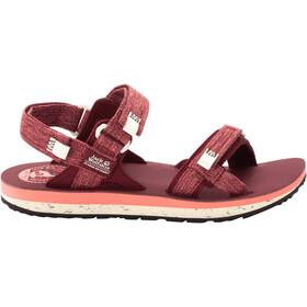Jack Wolfskin Outfresh Deluxe Sandals Women, czerwony